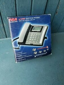 Rca 25414re3 4 line Business System Phone Speakerphone Telephone