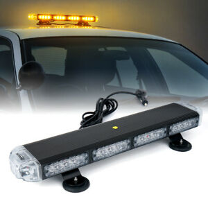 Xprite 21 Amber Traffic Advisor Led Roof Top Emergency Strobe Light Plow Truck