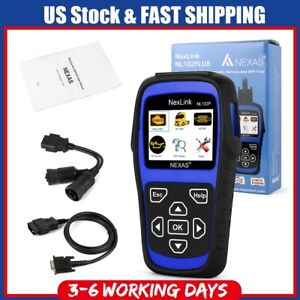 Heavy Duty Truck Diagnostic Scanner Code Reader Dpf Regen Oil Reset Nexas Nl102p