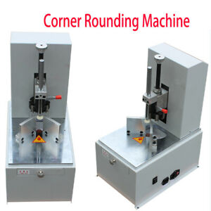 120w Electic Round Corner Cutter Corner Rounding Machine For Name Cards 110v
