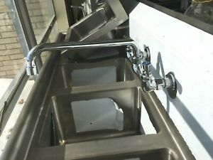Sink New 3 Bowl 72 X 24 X 36 H Sink Stainless Steel Heavy Duty