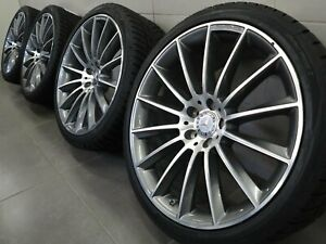20 Inch Winter Tyres Mercedes Cls W257 A2574011900 C257 Amg New d121