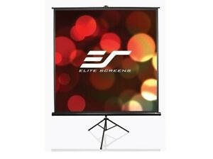 Elite Screens Tripod T84uwv1 Portable Projection Screen 50x67in 84
