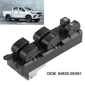 Power Window Master Control Switch 84820 0k061 For Toyota Hilux Fortuner