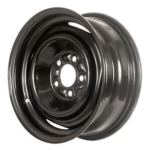 00895 Refinished Ford Mustang 1969 1972 15 Inch Black Steel Wheel Rim