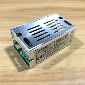 Dc 12v 1a 12w Universal Regulated Switching Power Supply Adapter Ac 110 240v