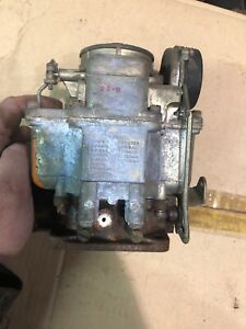 Nos Carter Carburetor 566sa Original Military Cadillac Tank M5 M8