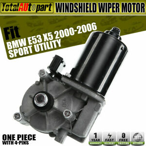 Windshield Wiper Motor W Washer Pump Front Side For Bmw X5 E53 2000 2006 852106