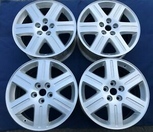 18 Chrysler 300 2005 2006 18x7 5 Silver Machined Oe Wheels 2263