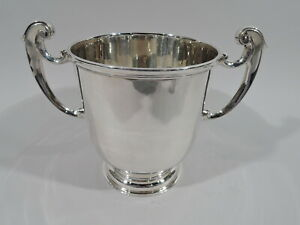 George V Trophy Cup Antique Classical Urn English Sterling Silver 1932