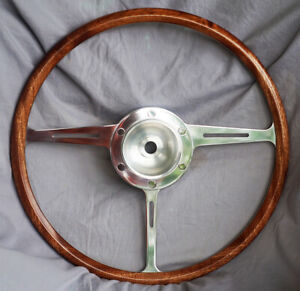 Mga Twin cam Special Wood Rimmed Steering Wheel
