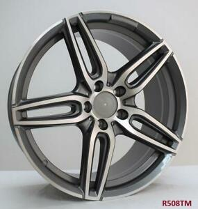 19 Wheels For Mercedes C300 4matic Sport 2008 14 Staggered 19x8 5 19x9 5