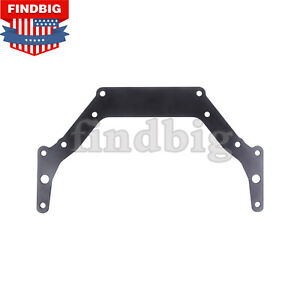 Transmission Adapter Plate For Chevy 1962 Up Th350 Th400 Bop To Black New