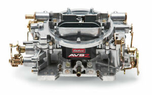 Edelbrock 650cfm Avs2 Carburetor W annular Boosters P n 1905