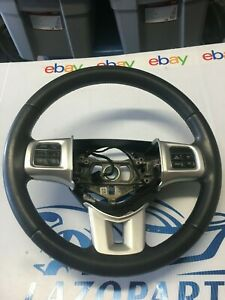 2012 Dodge Challenger Steering Wheel Black Leather