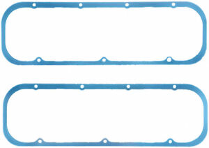 Fel pro Bbc Rubber Valve Cover Gasket 3 16in Thick P n 1635
