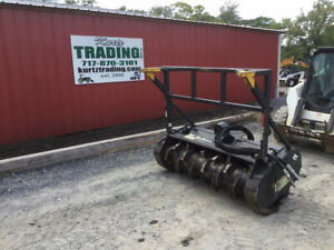 2015 Bobcat Fc60 60 Mulching Head Attachment For Skid Steer Loaders