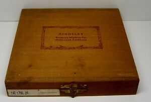 Kingsley Machine Type 18th Century Font Hot Foil Stamp Set Redwood Box Antique