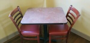 Restaurant Tables 24x30 Used J h Carr Sons