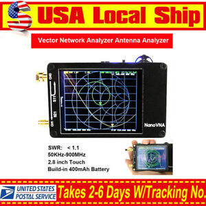 Nanovna 50khz 900mhz Vector Network Analyzer Vna Uv Vhf Uhf Hf Antenna Analyzer