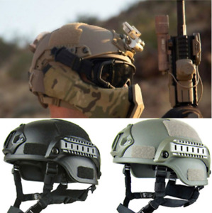 MICH2000 Helmet Outdoor Airsoft Military Tactical Combat Riding Cap US#yaw