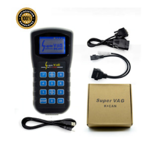 Super Vag Vag K Can 4 8 Key Programmer Odometer Correction Read Security Code