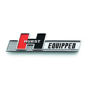 Hurst Hurst Equipped Emblem P N 1361000