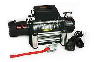 Trail Fx W08b Vehicle Recovery Winch 12 Volt 8000lbs Capacity 94 Wire Rope