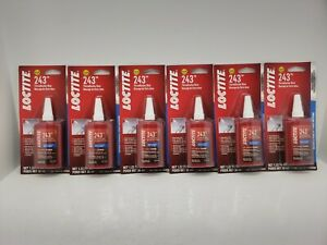 Loctite 262 High Strength Threadlocker 36 Ml Bottle Blue Med Strength Box Of 6
