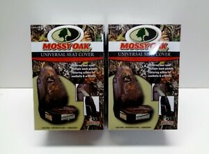 2 New Mossy Oak Camouflage Car Truck Suv Van Front Universal Fit Seat Covers Set