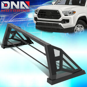For 2005 2018 Toyota Tacoma Styleside Rear Truck Bed Chase Rack Safety Roll Bar