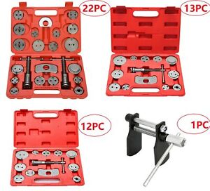 Universal Disc Brake Caliper Piston Pad Auto Wind Back Rewind Repair Tool Kits