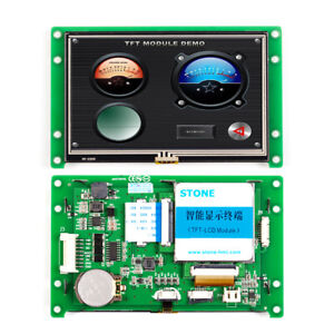 4 3 Inch Hmi Smart Tft Lcd Display Module With Controller program touch uart