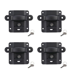 For 15 19 Ford F150 Box Tie Down Truck Bed Cleats Locking Set W Reinforcements