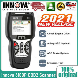 Innova Srs Abs Engine Obd2 Scan Diagnostic Tool Service Light Reset Alternator