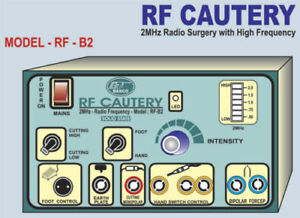 Rf Cautery 2mhz Radio Surgery Orthopaedic Neuro Surgery Machine Therapy Unit
