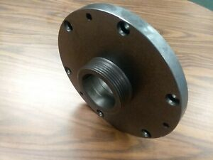10 L00 Adapter Plate For Self centering 3 4 6 jaw Lathe Chucks adp 10 l00