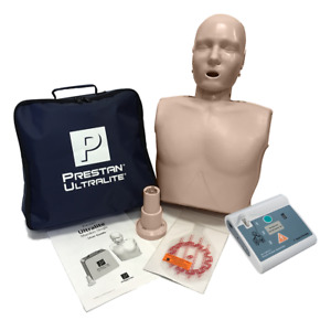 Prestan Ultralite Cpr Training Manikin Essentials Practi Aed Trainer