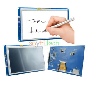 7 Inch 800x480 Tft Lcd Ssd1963 Touch Pwm Module For Arduino 51 Avr Stm32 Arm