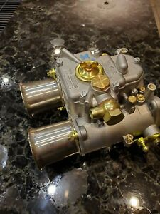 19630 007 Webber 48 Dcoe Carburetor Side Draft Rotary Engine Re 13b Mazda Wankel