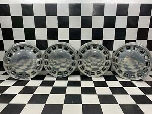 90 05 Cadillac Deville Seville Eldorado Fwd 16 Chrome Powdercoated Wheel Set