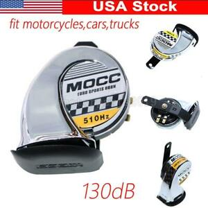 Motorcycle Cars Chrome Horn For Harley Davidson Electra Road Street Glide King