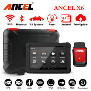 Bluetooth Full Systems Obd2 Automotive Scanner Diagnostic Tool Abs Epb Tpms Immo