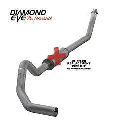 Diamond Eye 4 Turbo Back No Muffler Fits 1994 2002 Dodge 5 9l Cummins 2500 3500