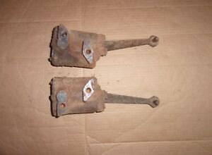 Pair Rear Lever Shock Absorbers 1948 Chevrolet Fleetmaster 48 Chevy Rat Rod
