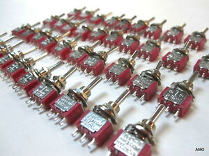 40 Salecom T80 t 6 Pin 2 Position On on Mini Toggle Switches Usa