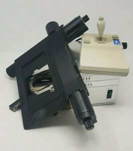 Ludl Lep Microscope Motorized Stage With Slide Plate Controller