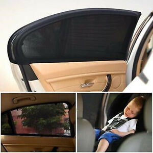 2 Uv Protection Car Sun Shade Car Suv Curtains For Rear Side Window Accessories