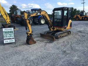 2002 Caterpillar 302 5 Hydraulic Mini Excavator W Cab Only 2400hrs Coming Soon