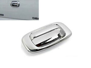 Chrome Tailgate Handle Cover Covers For 99 06 Chevy Silverado Gmc Sierra 1500